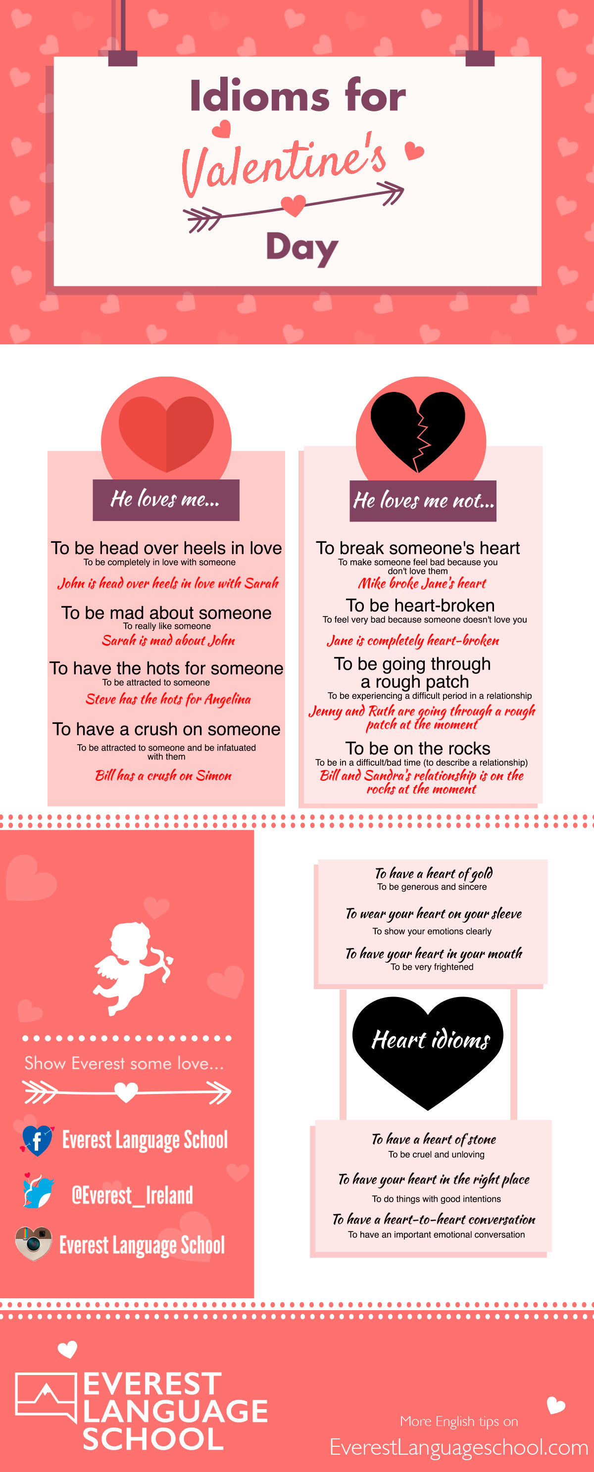 Learn English Idioms: Valentine's